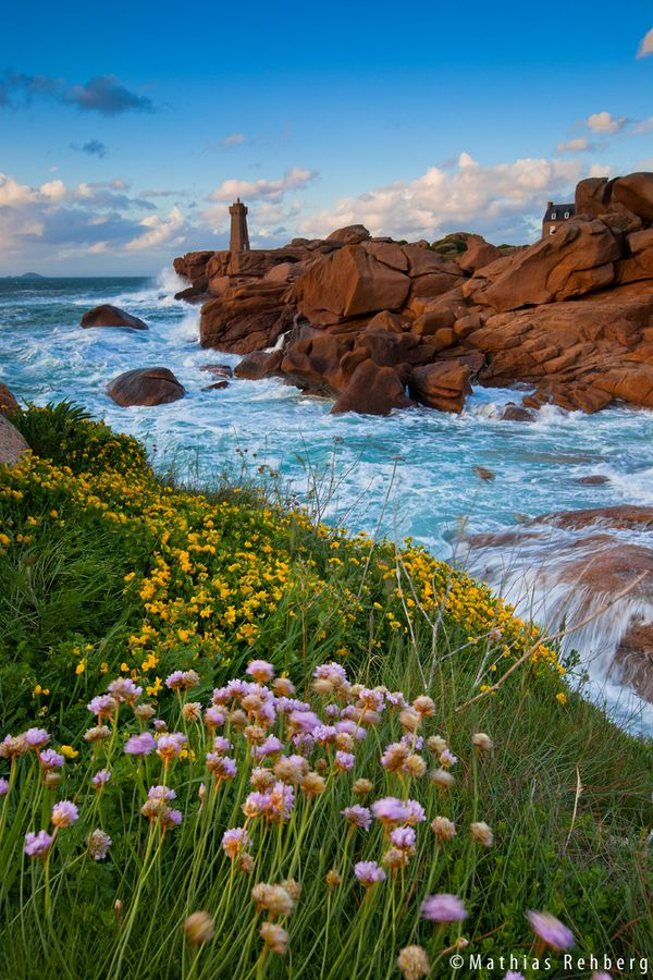Lighthouse Ploumanac'h by Mathias Rehberg, via 500px