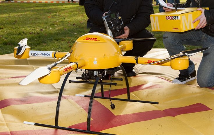 DHL Delivery drone, or a parcelcopter!