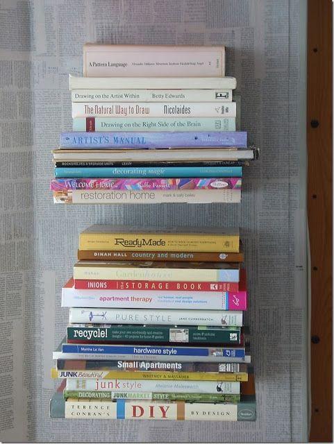 Estanteria de libros flotantes - En x4duros.com