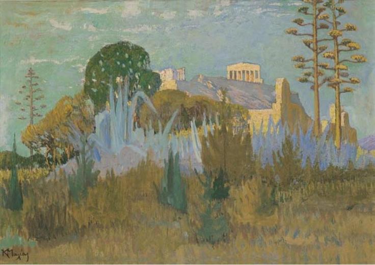 View of Acropolis  Constantine Maleas