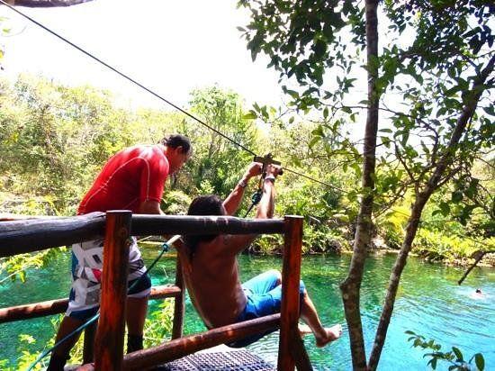 Aventuras Mayas Tour Aktun Koh