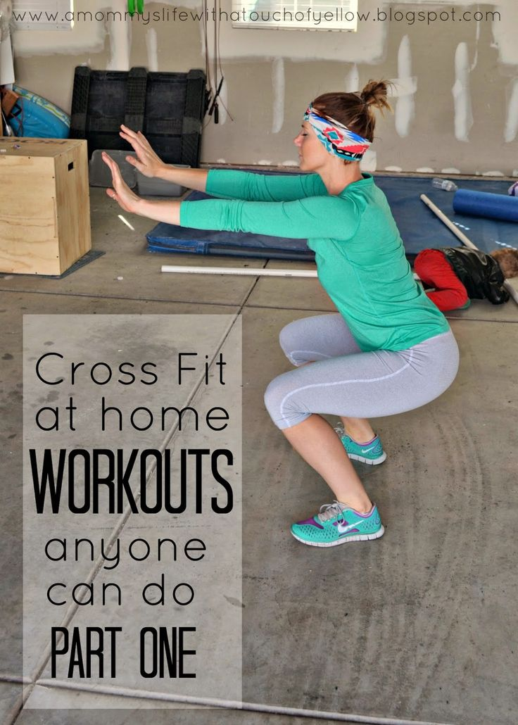 CrossFit {At Home Workouts Anyone Can Do}