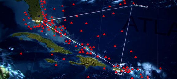 How Big Is The Bermuda Triangle? -- Concept: Coordinate Geometry: Area of Triangle -- CCSS Standards: G-GPE.7