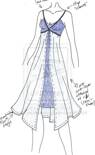 Misccd Fairy Nightgown By Loveliesbleeding2 On