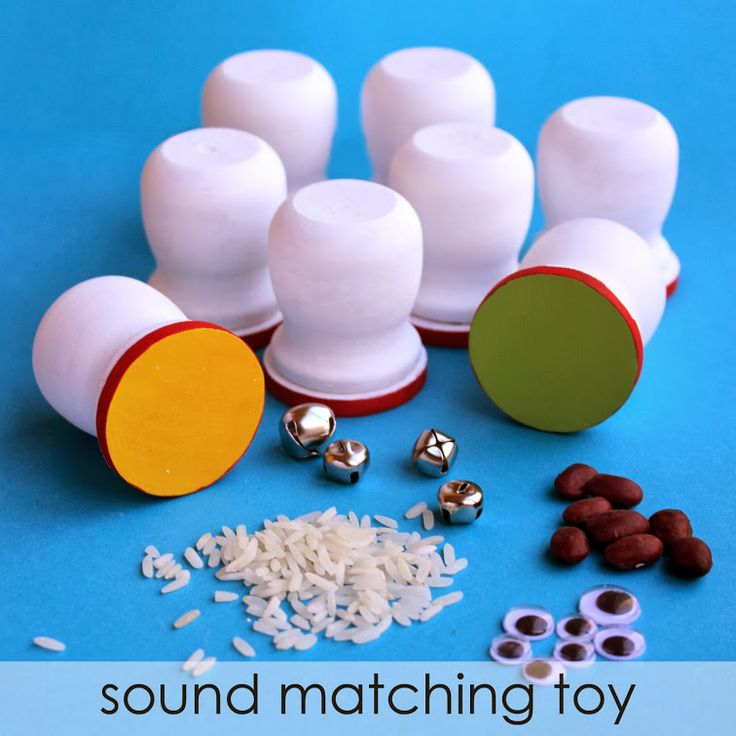 {DIY Sound Matching Game} Like memory, but with sounds instead of pictures