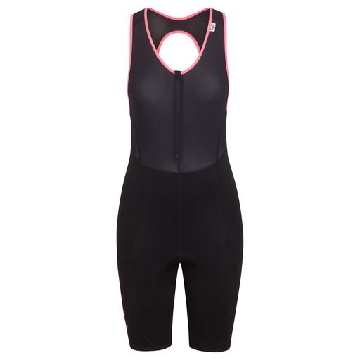 Our popular women's cycling bib shorts updated with a new gripper, designed for total comfort.