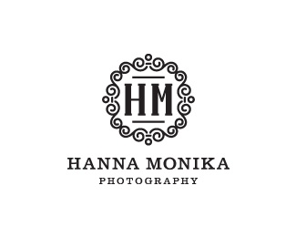 Hanna Monika #logoBrand Ideas, Logo Design, Graphics Design Typography, Hanna Monika, Photography Logo, Design Ideas, Brand Inspiration, Monika Logo