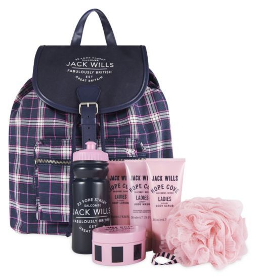 Jack Wills Weekend Essentials Backpack - Boots