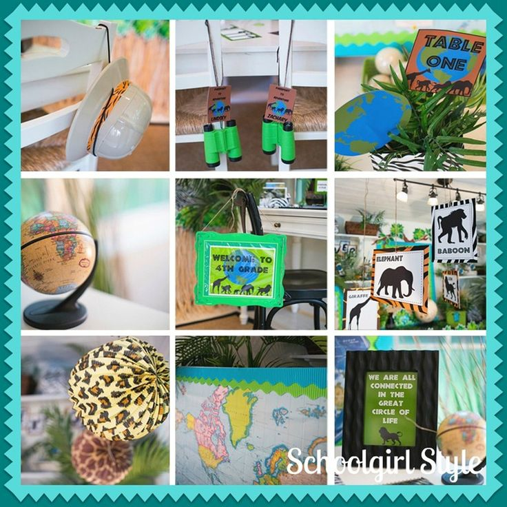 Classroom Decor South Africa ~ Best images about school theme classroom themes on
