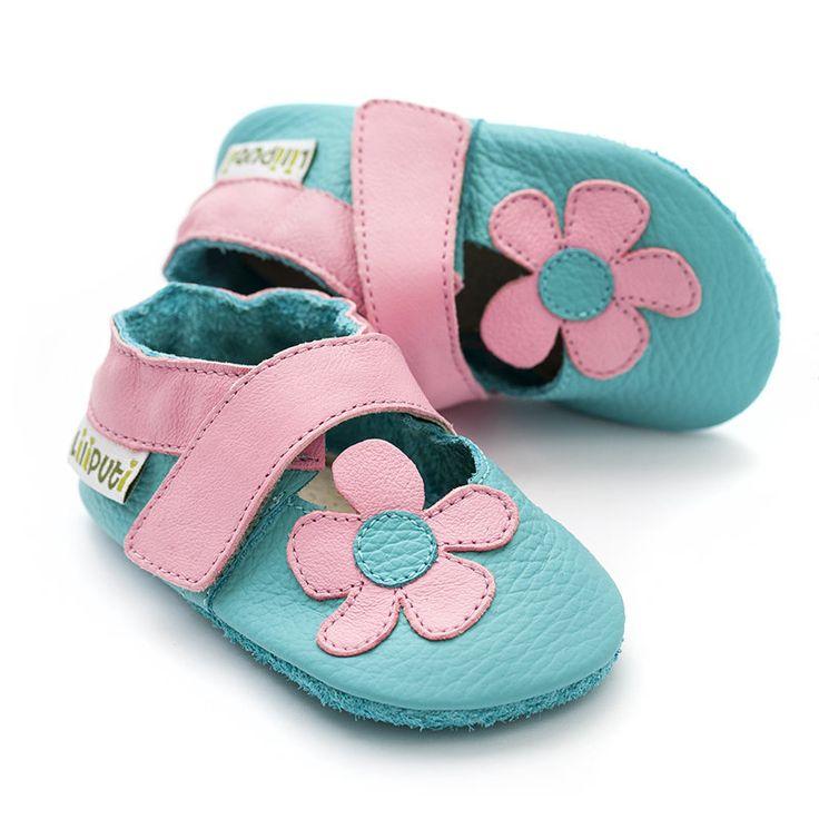 Liliputi Soft Baby Sandals - Lotus  http://www.liliputibabycarriers.com/soft-leather-baby-sandals/lotus
