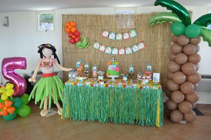 Hawaiian Luau Birthday Party Ideas   Photo 1 of 33   Catch My Party