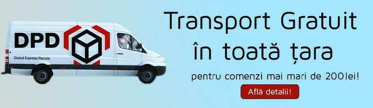 Transport GRATUIT pentru comenzi peste 200 lei! www.medlens.ro