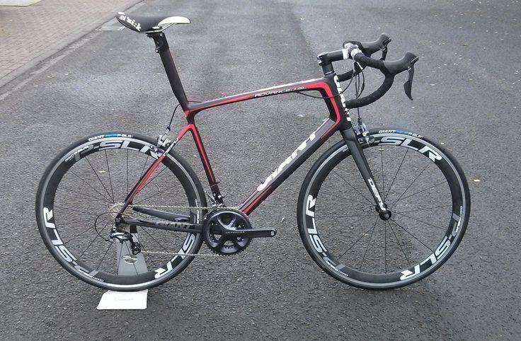 2014 Giant Defy Advanced SL with 11 speed Ultegra and P-SLR wheels. www.cycle-art.co.uk and www.bikerepairman.co.uk