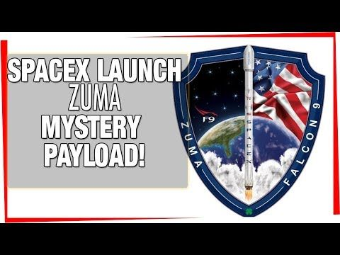 SpaceX landing & launch - ZUMA (Mystery Payload!) Webast / SpaceX LIVE launch & landing - YouTube