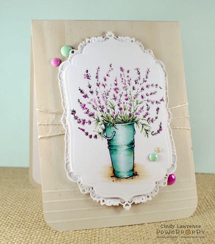 Lavender Stamp Set