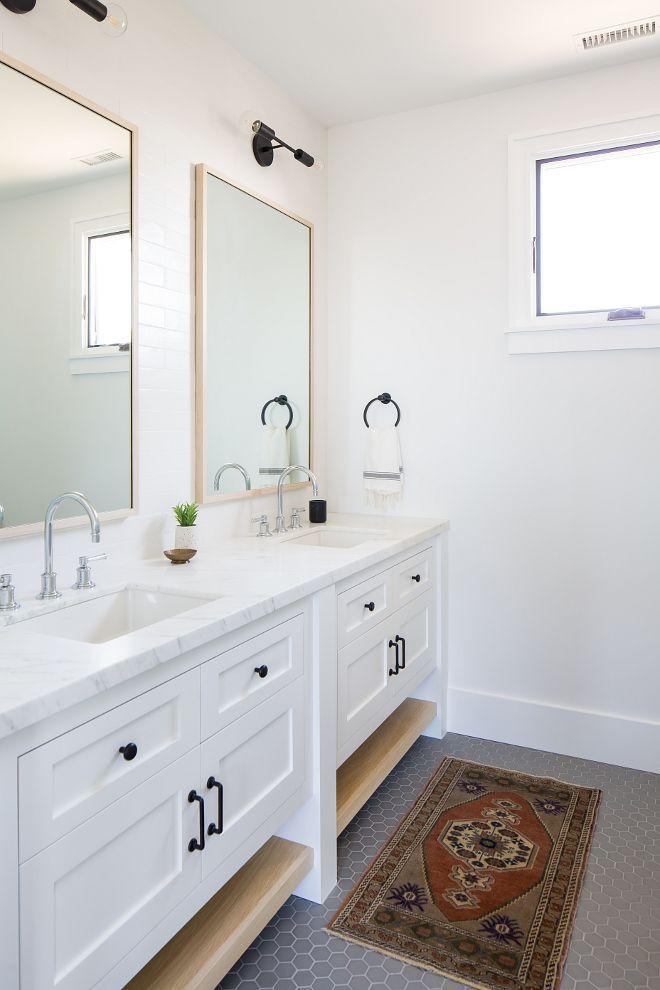 30+ Modern farmhouse bathroom cabinets type