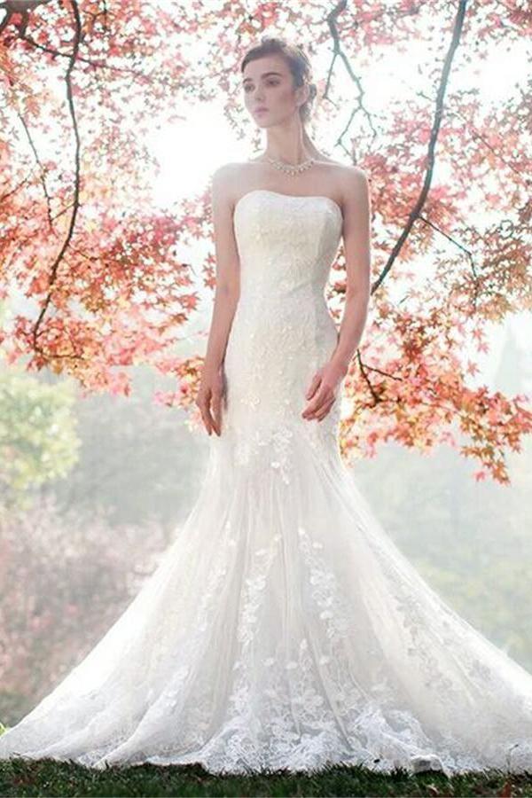 865 besten Wedding Dresses Lace Bilder auf Pinterest | Brautkleider ...