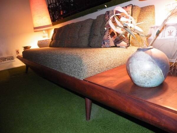 Perfect Mid Century Modern Adrian Pearsall Style Sofa #MidCenturyModern  #AdrianPearsallstylenotagsreupholstered