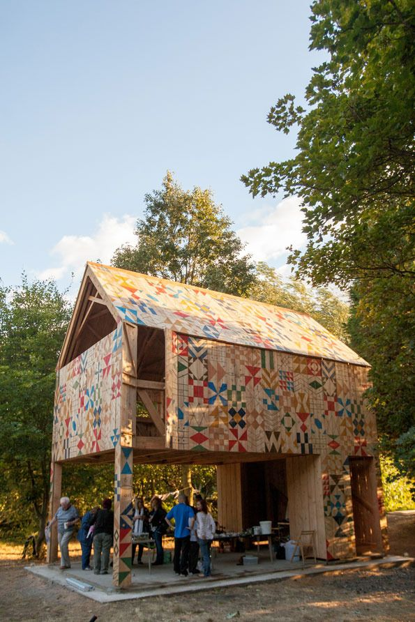 Like tree houses? You'll love Nous Vous and Studio Weave's latest collaboration