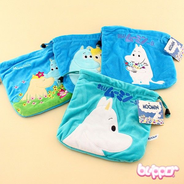 Moomin Draw String Pouch