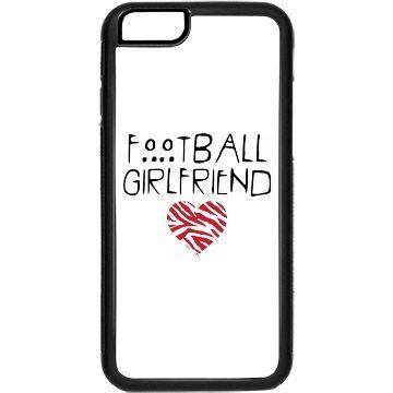 Football girlfriend | custom i phone case for the football girlfriends.