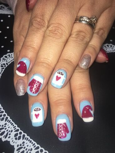 Christmas Time By Amyjo313 From Nail Art Gallery Christmas Nail