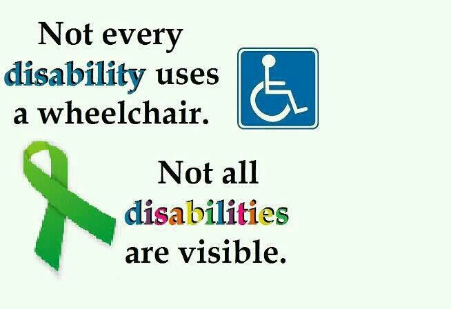 invisible disability Metro reporter simon robb talks about why it's important to have all inclusive disabled toilet signs (picture: facebook/simon robb) living with an 'invisible' disability is not easy, especially when it comes to using disabled facilities.