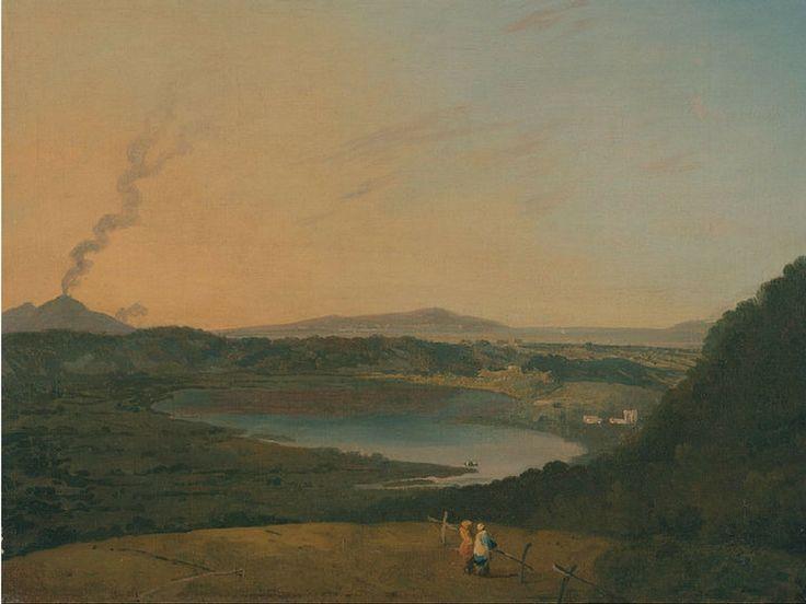 Il lago di Agnano, qualche secolo fa. | The Agnano lake, some centuries ago.