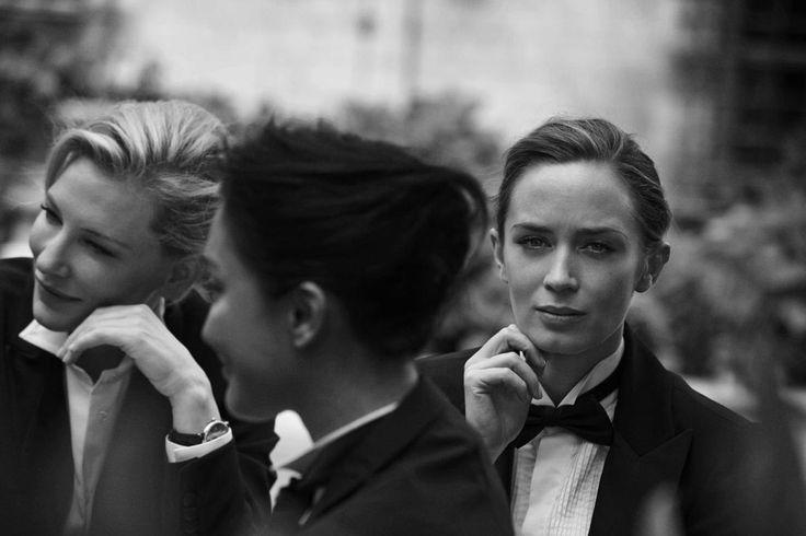 Emily Blunt, Cate Blanchett, Zhou Xun, Ewan McGregor and Christoph Waltz by Peter Lindbergh