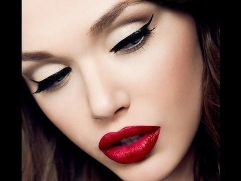 Pin Up makeup look collection with videos