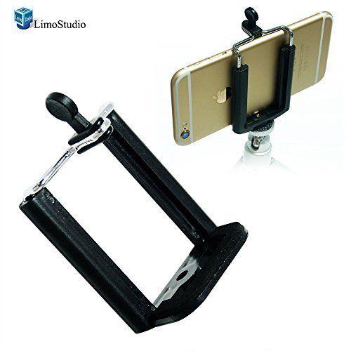 LimoStudio Photo Monopod Tripod Mount Clip Cell Phone Holder for iPhone 6 5S 5C 5 4S 4 Samsung Galaxy S4 S3 , AGG1462 LimoStudio http://www.amazon.ca/dp/B00PBCBZJ2/ref=cm_sw_r_pi_dp_baHtwb0C9Q0ND