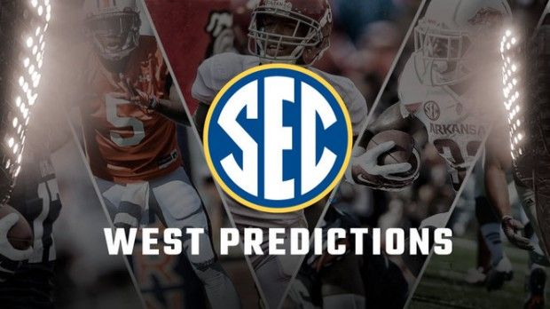 Some of the biggest names in college football coverage reveal their 2016 SEC West predictions
