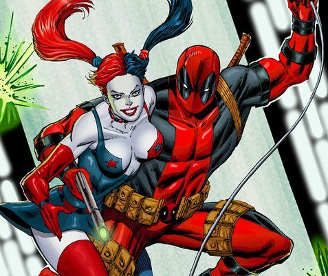 Deadpool And Harley Quinn 45 best images about D...