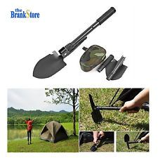 Folding Camping Shovel Military Survival Kit Outdoor Emergency Equipment