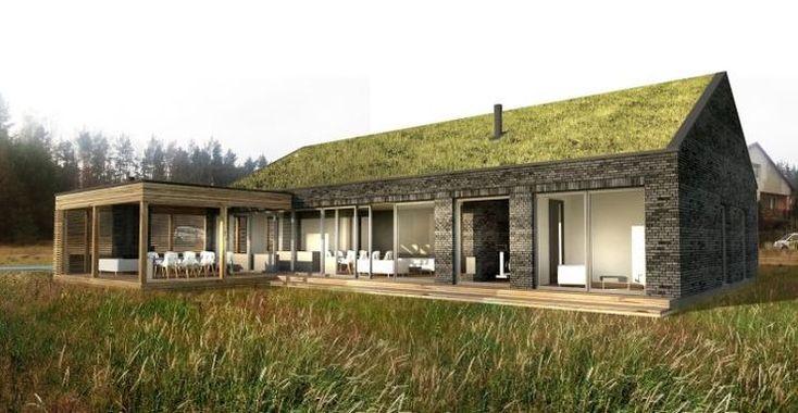 Nowoczesny projekt domu w stylu skandynawskim
