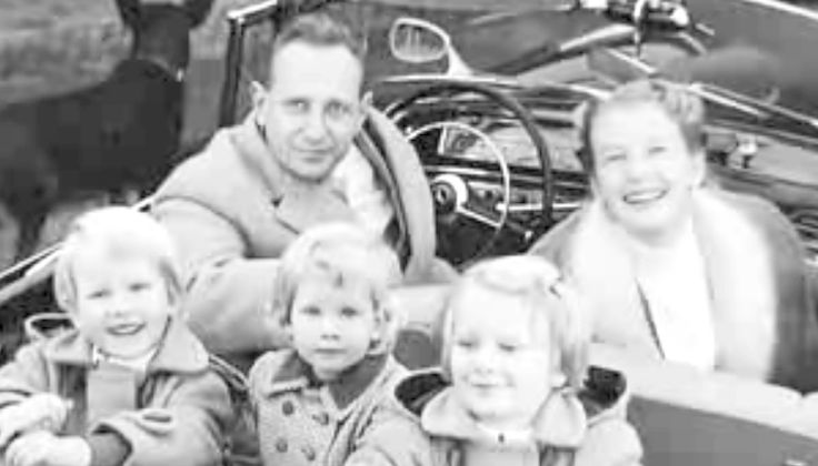 Harald Quandt family - stepson of Josef Goebbels only surviving member of that family with his family before his death in an airplane crash in 1967 - his family was then left billionaires