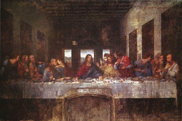 The Last Supper Leonardo Da Vinci Art Poster 24x36