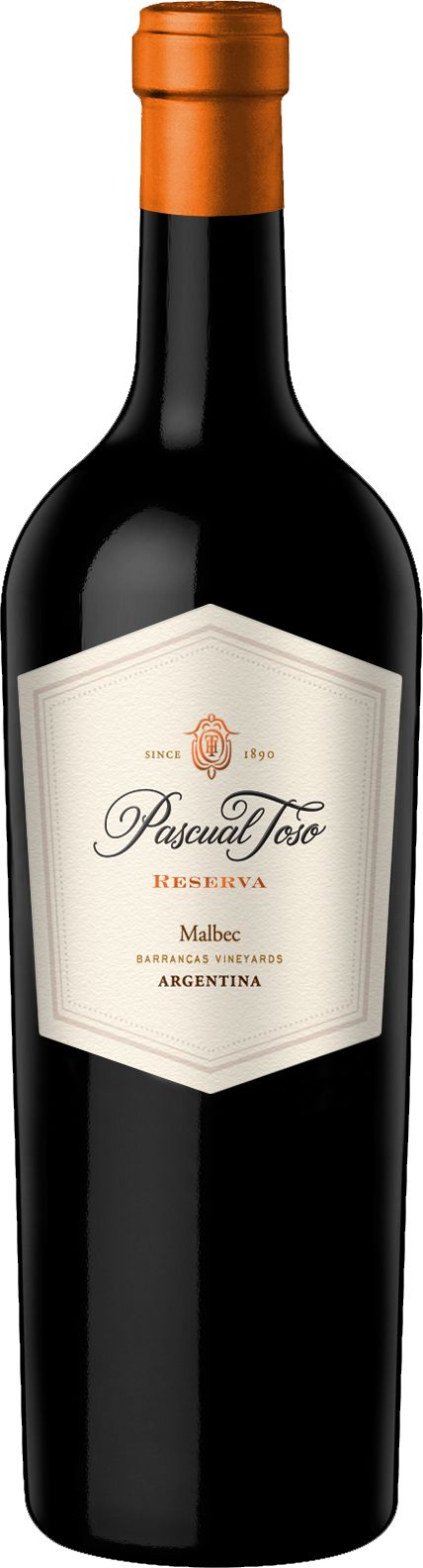 New Packaging! Pascual Toso Malbec Reserva