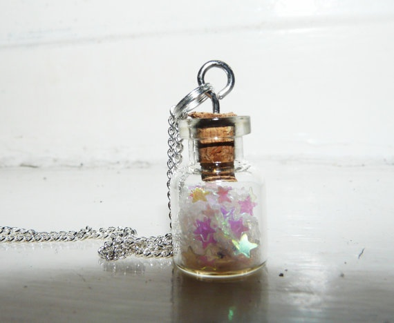 Stars in a Bottle Necklace  We Are All Made by soulblueprintdesign, £9.00