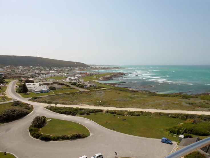 View from the top of the Agulhas lighthouse...