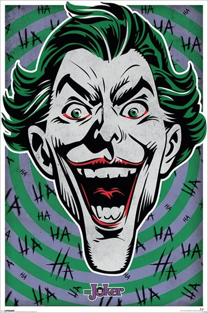 Batman - The Joker - Ha Ha Ha - Official Poster. Official Merchandise. Size…