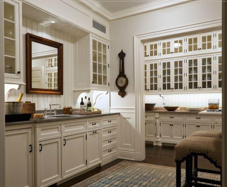 Stunning Butleru0027s Pantry... White KitchensKitchen WhiteModern ...