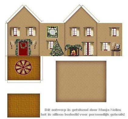 1000 Images About Mini Buildings Houses Bird Houses And