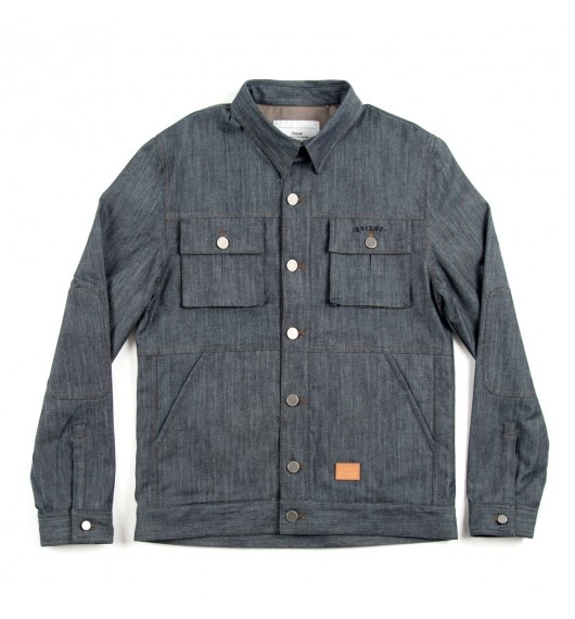 Orisue - Moto raw denim workwear jacket