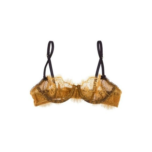 Elle Macpherson Intimates Shimmer Underwire bra (3,760 DOP) ❤ liked on Polyvore featuring intimates, bras, lingerie, underwear, holiday lingerie, gold lingerie, underwire bra, elle macpherson intimates bra and lingerie bra