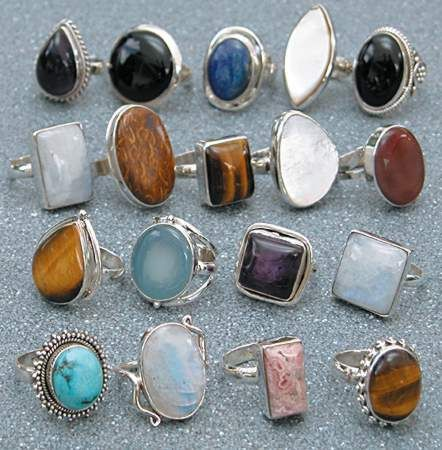 boho chic rings rings rings mother load of treasure