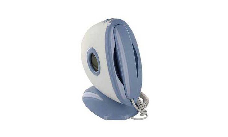 Инновационный телефон HSD-505A — это необычный домашний телефон, который имеет проектор времени и даты на стены или потолок. Он впишется в любой интерьер вашей квартиры или офиса.