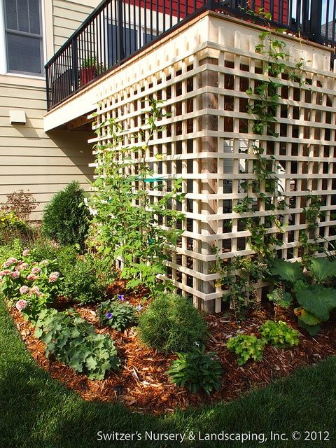 Deck Garden Ideas find this pin and more on backyard ideas small backyard deck ideas with small garden landscaping ideas Under Deck Patio Ideas Visit Google Com
