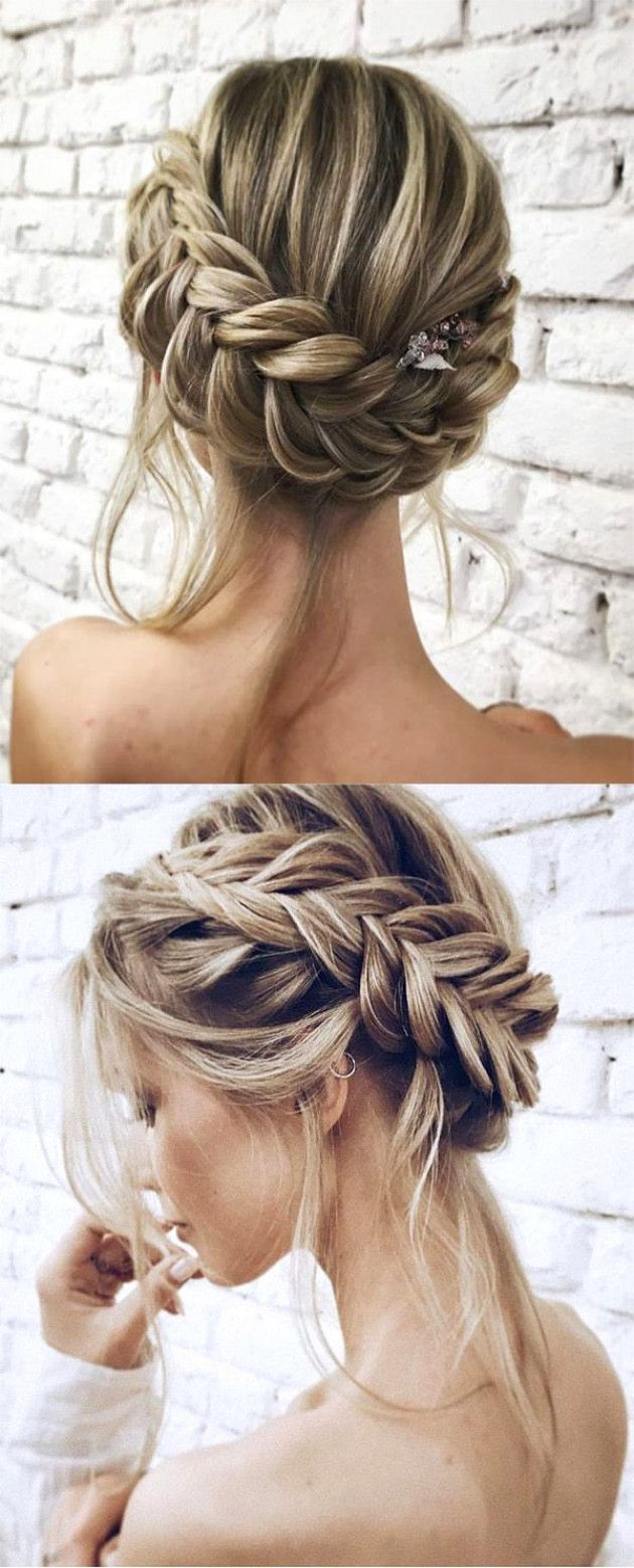 25 Chic Updo Wedding Hairstyles For All Brides Elegantweddinginvites Com Blog Short Hair Updo Easy Updo Hairstyles Hair Styles