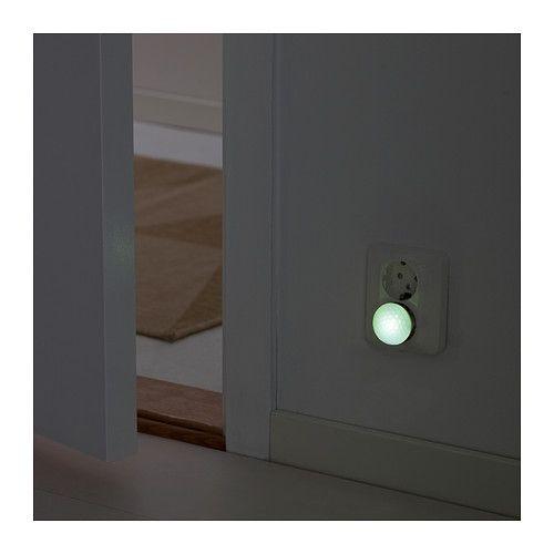 PATRULL Oświetlenie nocne z czujnikiem - biały - IKEA